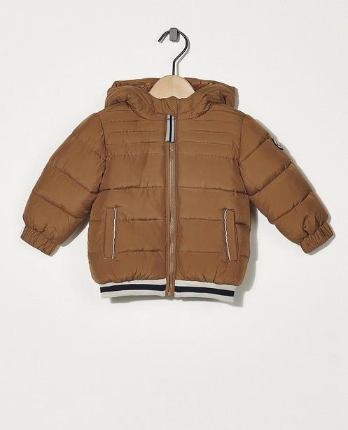 Manteau d'hiver brun - avec rembourrage - Cuddles and Smiles