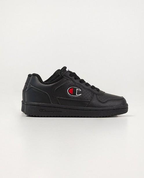 Zwarte Champion-sneakers, 28-32 - met zwarte zool - Champion