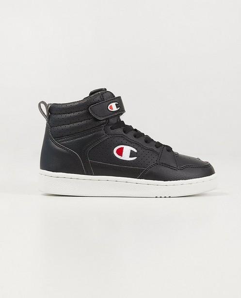 Hoge Champion-sneakers, maat 28-32 - in zwart - Champion