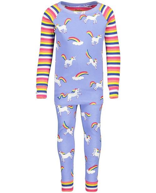 Paarse pyjama met print Hatley - allover - Hatley