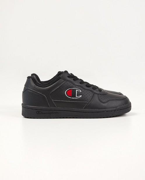 Zwarte Champion-sneakers, 33-39 - met zwarte zool - Champion