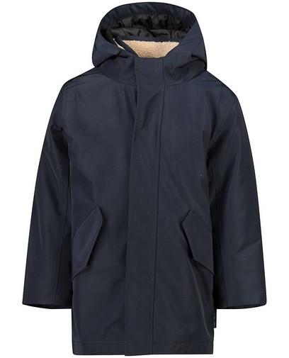 Manteau bleu 2 en 1