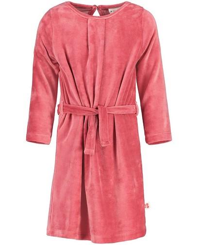 Robe rose en velours Froy & Dind