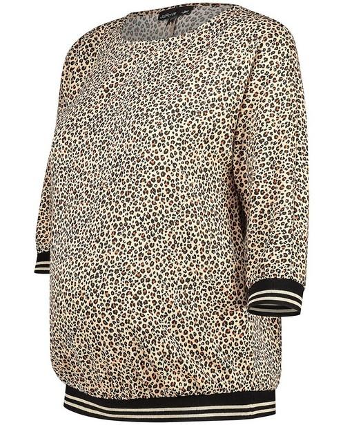 Blouse imprimé léopard JoliRonde - grossesse - Joli Ronde