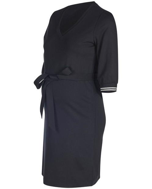 Robe de grossesse noire JoliRonde - avec cordon de serrage - Joli Ronde