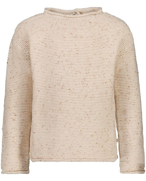 Gebreide off-white trui Your Wishes - met beige - Your Wishes