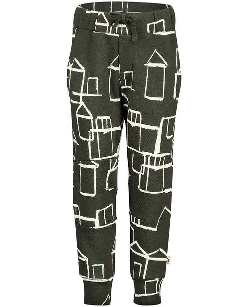 Groene broek met print Your Wishes - allover - Your Wishes