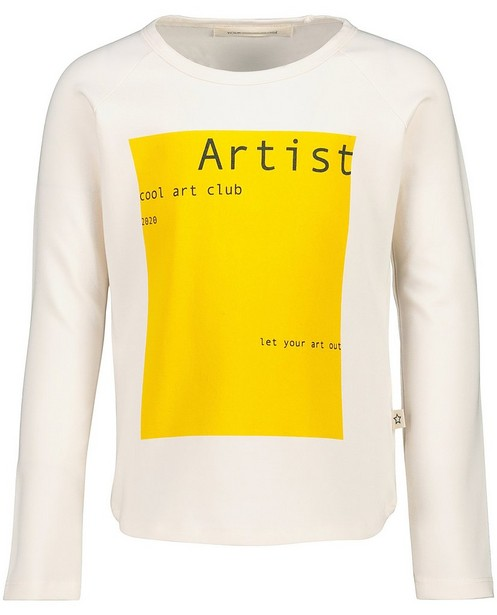 Off-white longsleeve Your Wishes - met print - Your Wishes