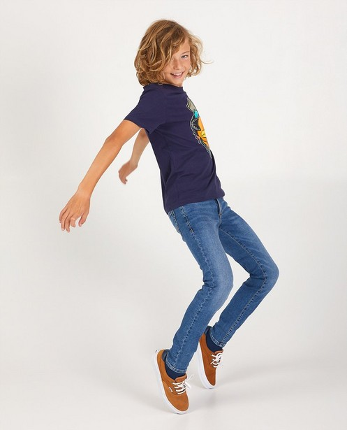 Skinny Joey bleu, 7-14 ans - stretch - Fish & Chips