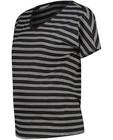 Gestreept T-shirt JoliRonde - met V-hals - Joli Ronde