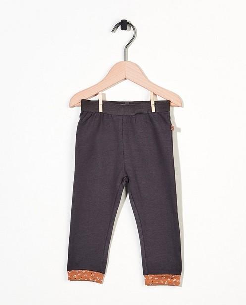 Pantalon évolutif en gris foncé - stretch - Newborn