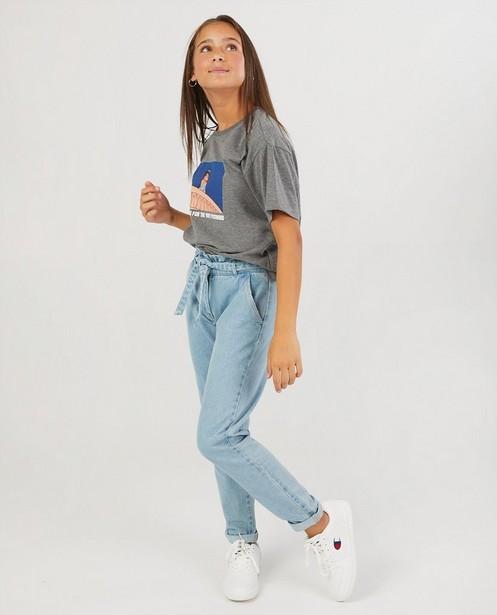 Grijs T-shirt van biokatoen Disney - met print - Groggy