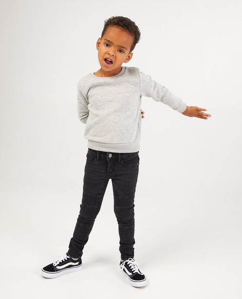Superskinny noir Noah, 2-7 ans - stretch - Kidz Nation