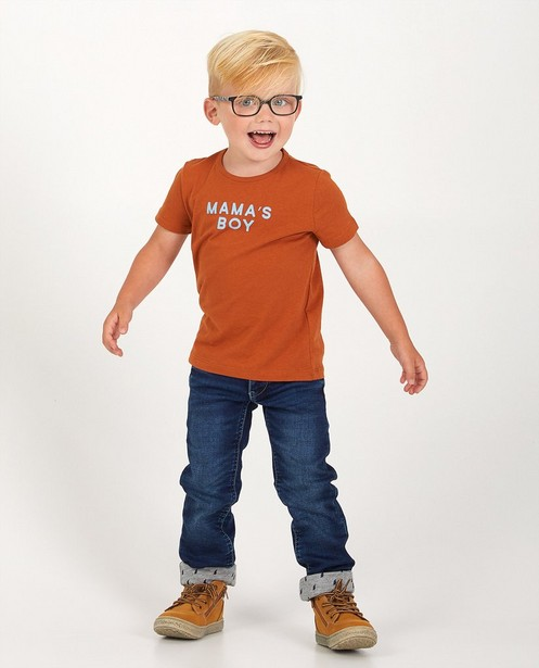 Blauwe slim jeans Simon, 2-7 jaar - stretch - Kidz Nation