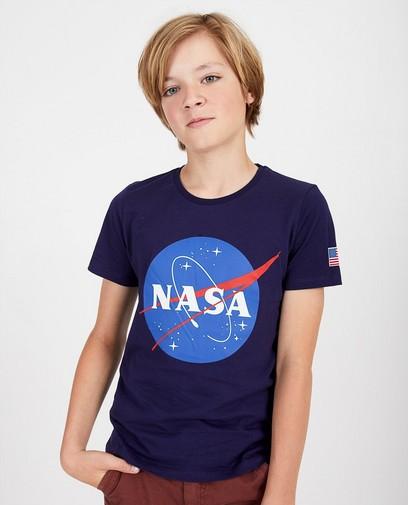 Blaues NASA-Shirt