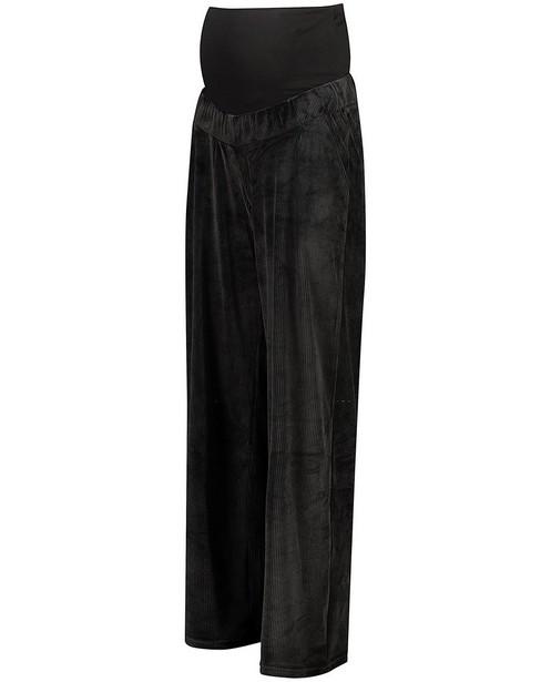 Pantalon noir en velours JoliRonde - grossesse - Joli Ronde