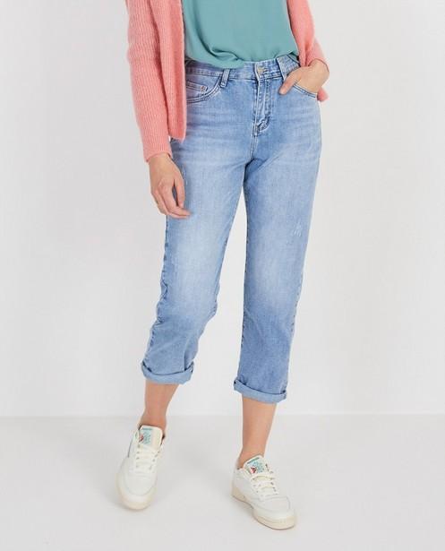 Jeans - Jeans bleu destroyed Ella Italia