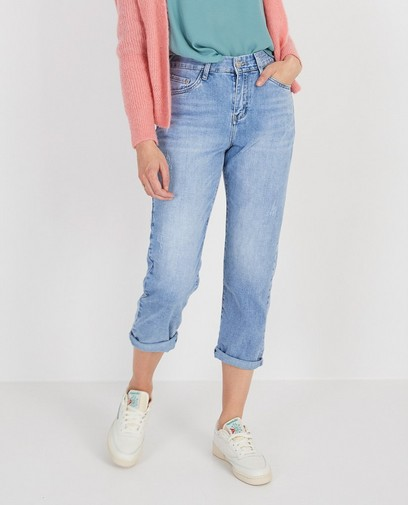 Blauwe destroyed jeans Ella Italia