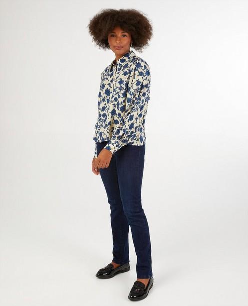 Jeans slim bleu Maison de Paris - high waist - Sora