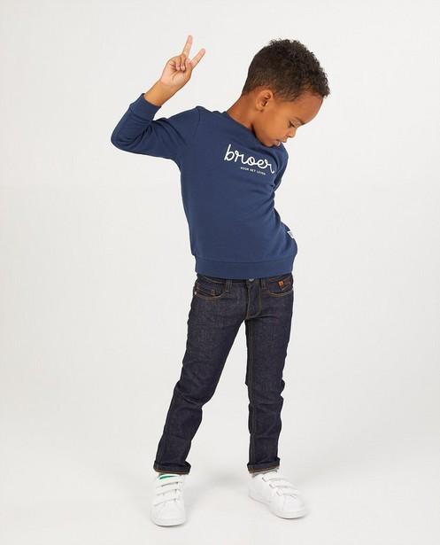 Jeans bleu foncé Simon - en denim - Kidz Nation