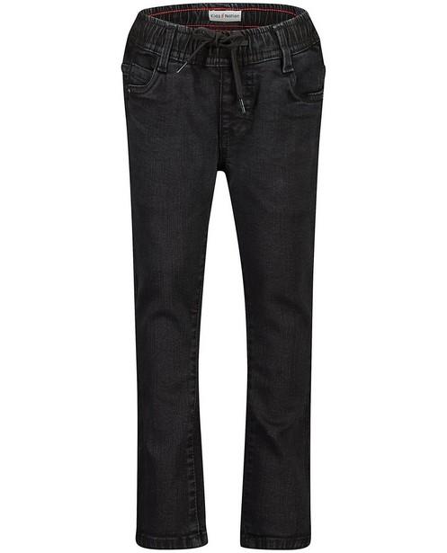 Zwarte slim jeans Simon - stretch - Kidz Nation