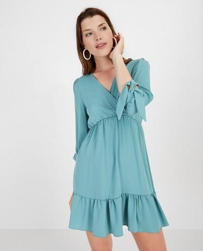 Blauwgroene jurk Ella Italia
