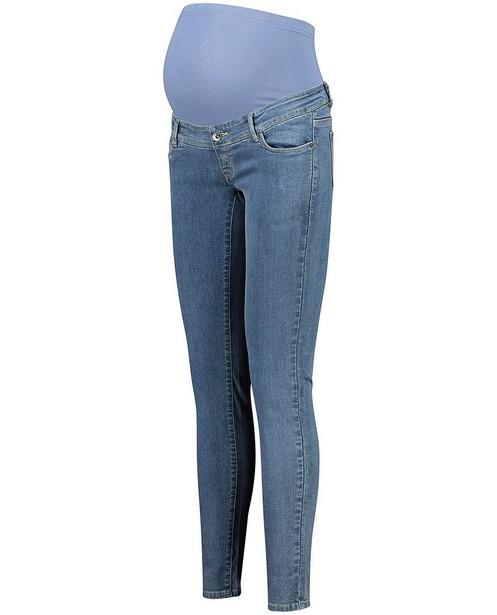 Jeans avec une bande au niveau du ventre JoliRonde - bleu - Joli Ronde