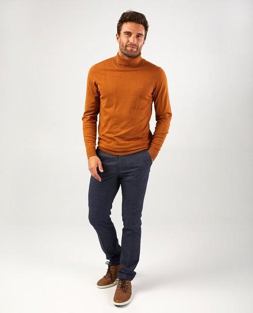 Pull brun Hampton Bays - en fin tricot - Hampton Bays