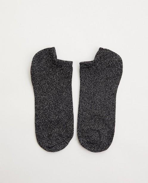 Socquettes avec fil métallisé Pieces - sur toute la surface - Pieces