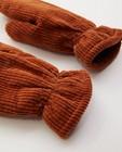 Breigoed - Wanten van ribfluweel Pieces