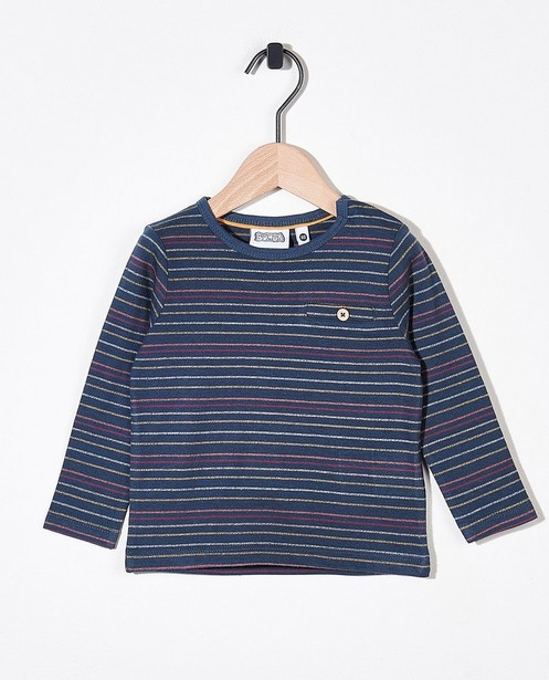 T-shirt à manches longues rayé Bumba - imprimé intégral - Bumba