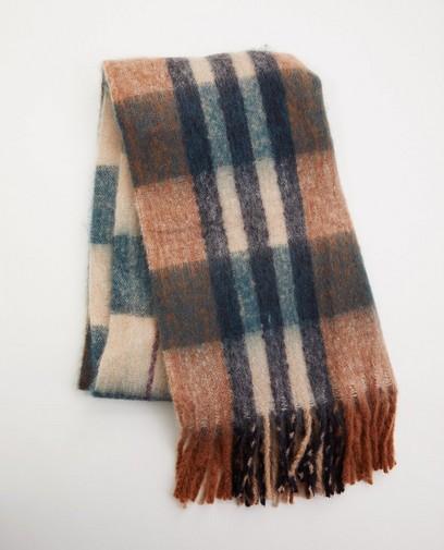 Sjaal met ruitpatroon Pieces