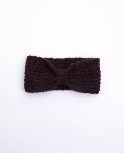 Bandeau brun Pieces - en polyester recyclé - Pieces