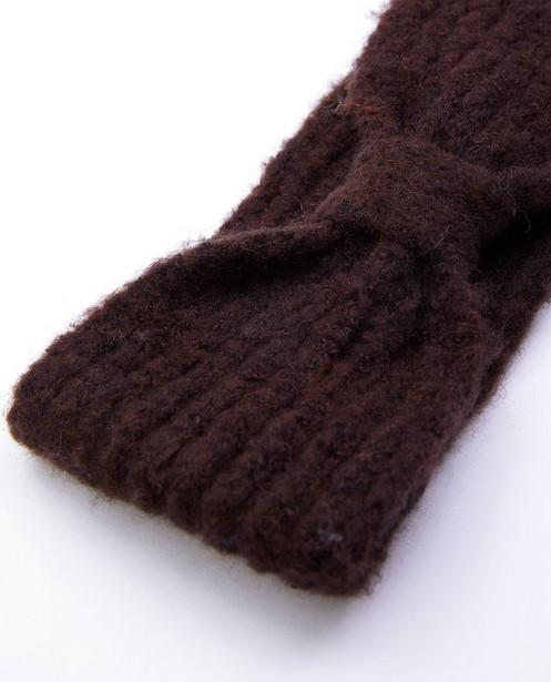Bonneterie - Bandeau brun Pieces