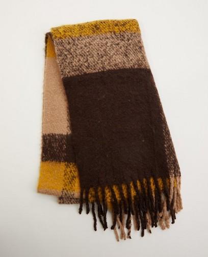 Sjaal in bruin-tinten Pieces