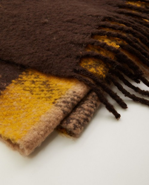 Bonneterie - Écharpe dans des tons de brun Pieces