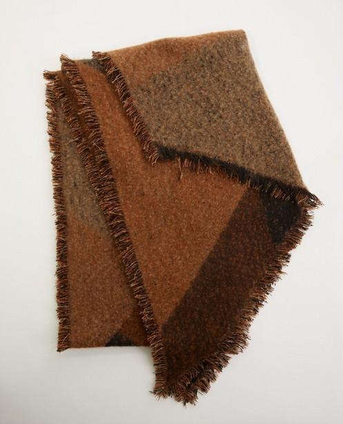 Écharpe brune Pieces - différentes nuances - Pieces
