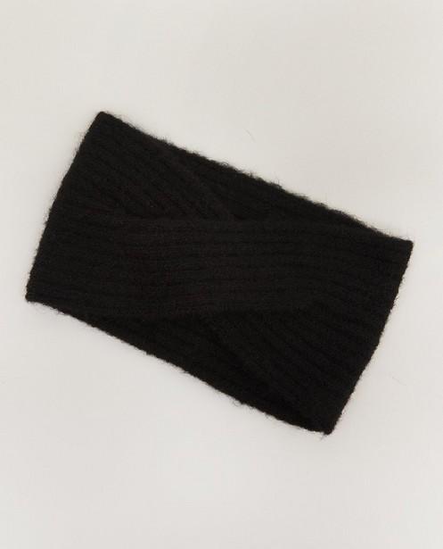 Bandeau noir Pieces - détail noué - Pieces