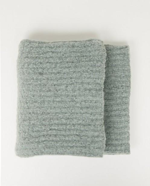 Écharpe vert pâle Pieces - en polyester recyclé - Pieces