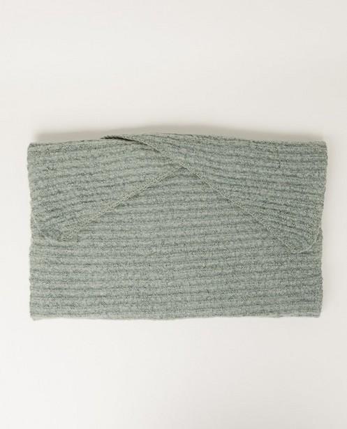 Bonneterie - Écharpe vert pâle Pieces