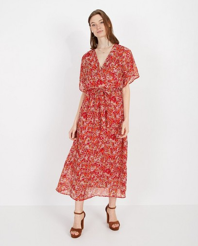Maxi-jurk met bloemenprint