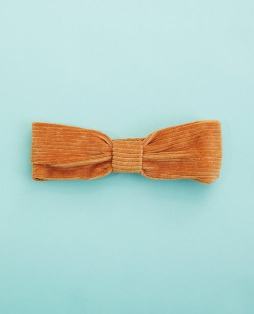 Strickware - Cognacfarbenes Haarband Hampton Bays