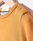 T-shirts - Okergele longsleeve Bumba