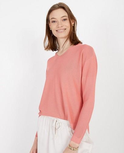 Roze trui