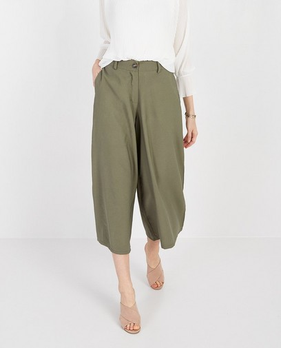 Groene culotte