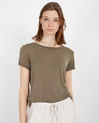 T-shirt vert kaki