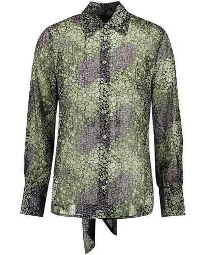 Soepel paars-groen hemd Youh!