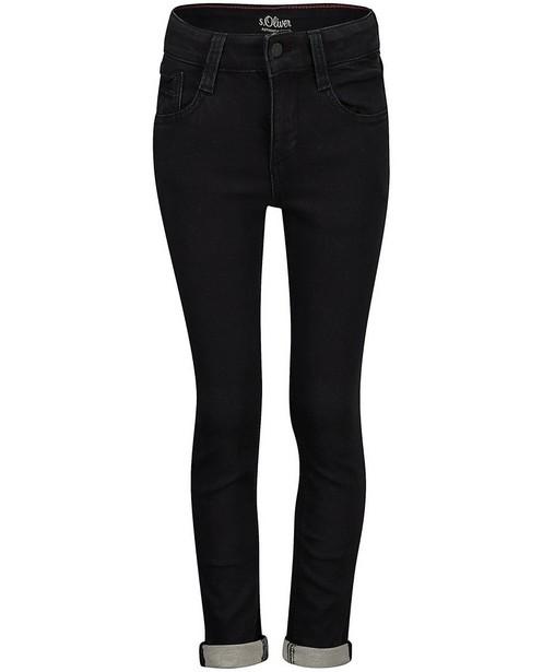 Zwarte slim jeans Seattle s.Oliver - met superstretch - S. Oliver