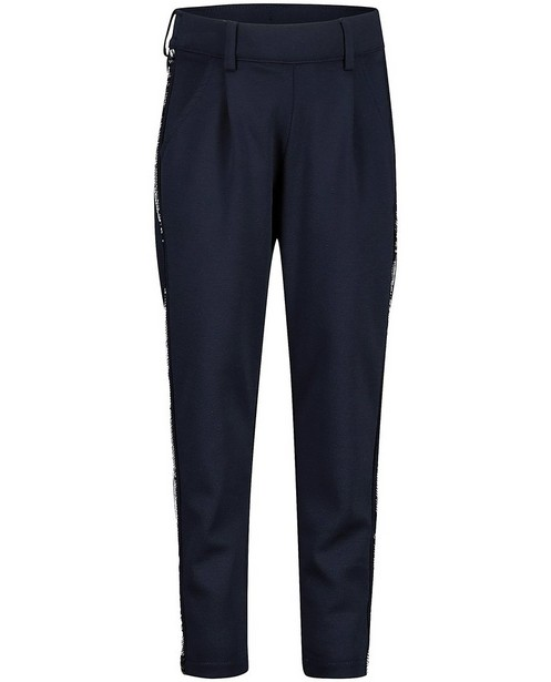 Pantalon bleu à paillettes s.Oliver - bleues ou argentées - S. Oliver