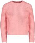 Pull en tricot rose s.Oliver - à grosses mailles - S. Oliver